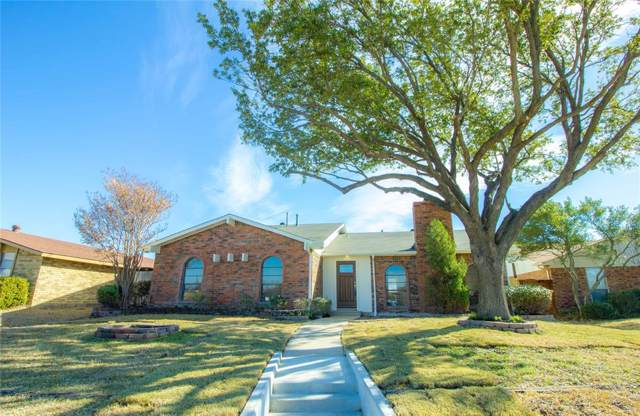 6809 Ragan Drive, The Colony, TX 75056 (MLS #14235193) :: Trinity Premier Properties