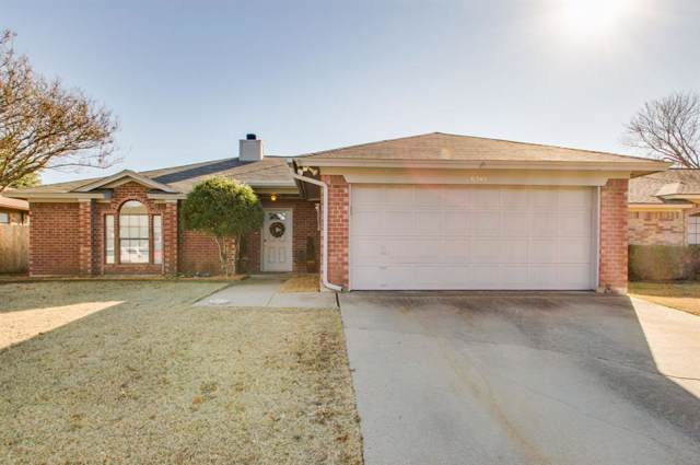 6345 Hunters Glen Drive, Watauga, TX 76148 (MLS #14235815) :: Dwell Residential Realty