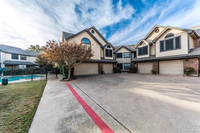 406 Santa Fe Trail #42, Irving, TX 75063 (MLS #14236586) :: The Hornburg Real Estate Group