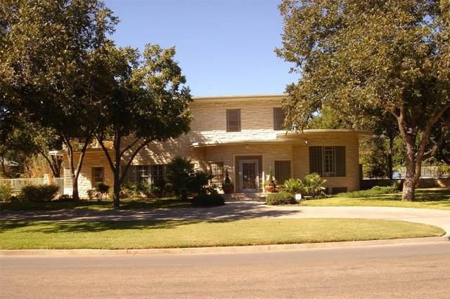 1120 Elmwood Drive, Abilene, TX 79605 (MLS #14236616) :: The Chad Smith Team