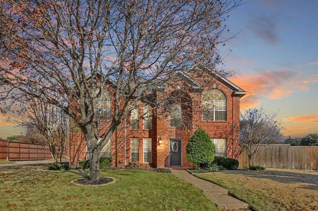 10602 Samantha Drive, Frisco, TX 75035 (MLS #14236982) :: The Good Home Team