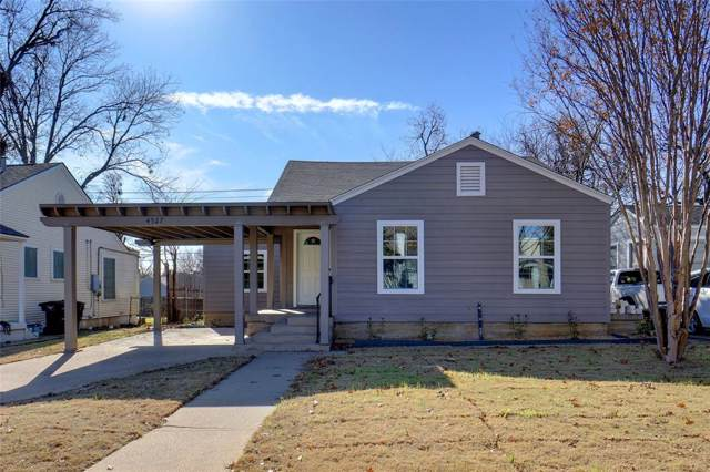 4527 Birchman Avenue, Fort Worth, TX 76107 (MLS #14238819) :: All Cities Realty