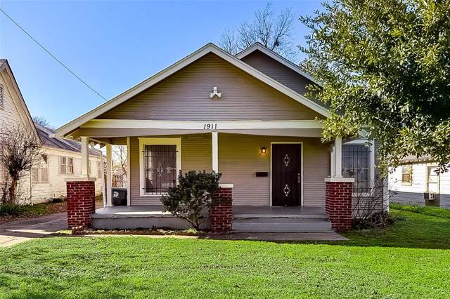 1911 Maryland Avenue, Dallas, TX 75216 (MLS #14238967) :: All Cities USA Realty