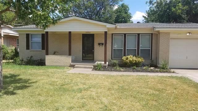 10912 Cotillion Drive, Dallas, TX 75228 (MLS #14239703) :: Ann Carr Real Estate