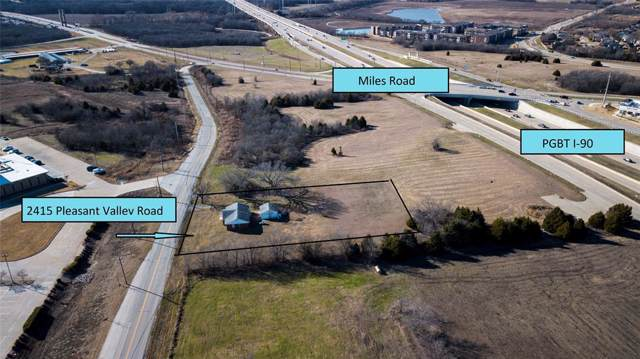 2415 Pleasant Valley Road, Sachse, TX 75048 (MLS #14241588) :: All Cities USA Realty
