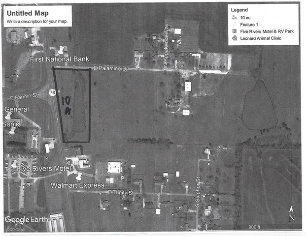 920 Palamino Drive, Leonard, TX 75452 (MLS #14243337) :: The Mauelshagen Group