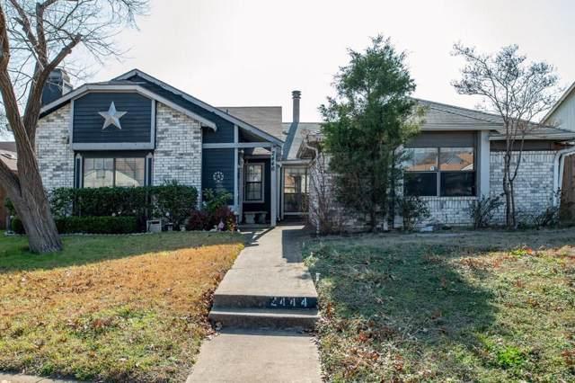 2444 E Timberview Lane, Arlington, TX 76014 (MLS #14244290) :: The Hornburg Real Estate Group