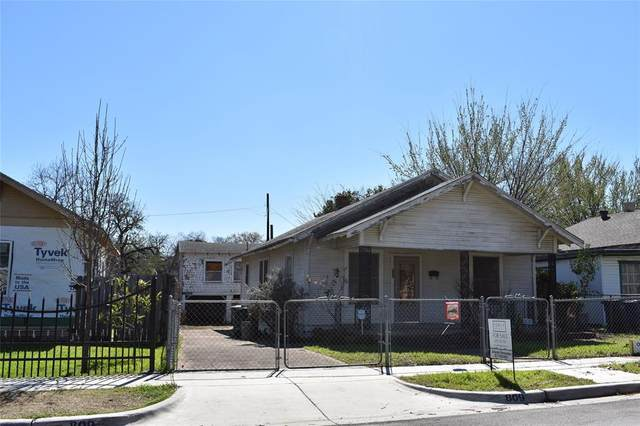 809 Park Street, Fort Worth, TX 76164 (MLS #14245109) :: Bray Real Estate Group