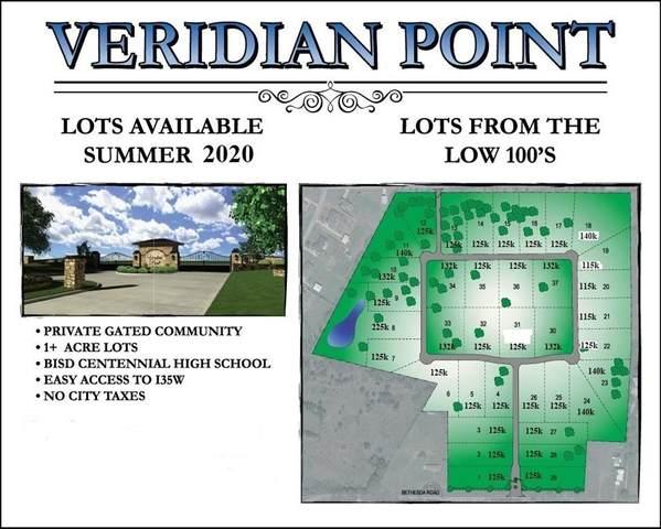 TBD-25 Mint Ridge Drive, Burleson, TX 76028 (MLS #14245909) :: The Hornburg Real Estate Group