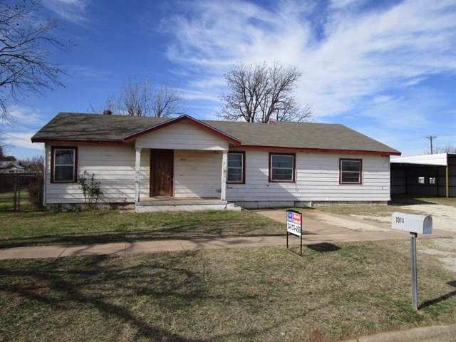 1014 Avenue H, Anson, TX 79501 (MLS #14250574) :: Real Estate By Design