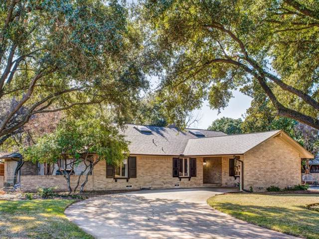 6840 Briar Cove Drive, Dallas, TX 75254 (MLS #14251794) :: Hargrove Realty Group