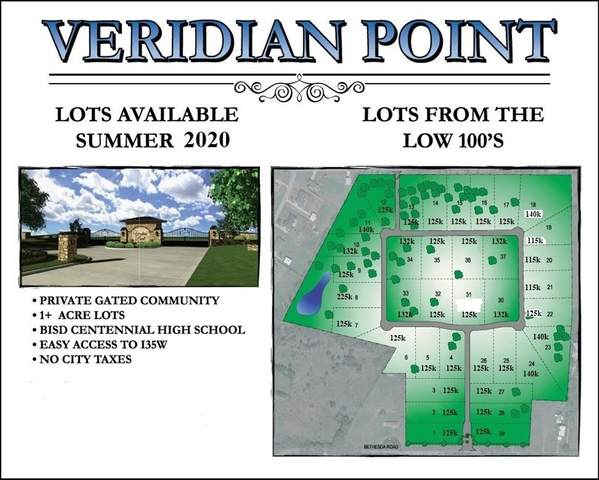 TBD-35 Pear Valley Lane, Burleson, TX 76028 (MLS #14252304) :: Team Hodnett