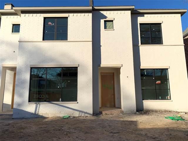 4320 Emerson Avenue, University Park, TX 75205 (MLS #14253773) :: Robbins Real Estate Group