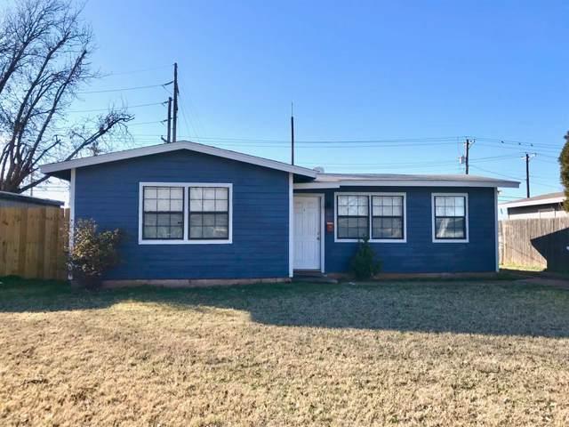 1358 S Bowie Drive, Abilene, TX 79605 (MLS #14259244) :: Tenesha Lusk Realty Group