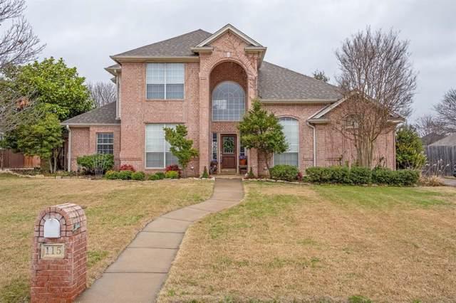 115 Hummingbird Lane, Justin, TX 76247 (MLS #14259936) :: Justin M Bassett Realty Group