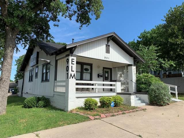 901 S Elm Street, Denton, TX 76201 (MLS #14260704) :: The Hornburg Real Estate Group