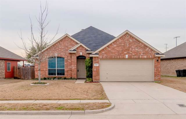 229 Cedar Crest Drive, Justin, TX 76247 (MLS #14260937) :: Baldree Home Team