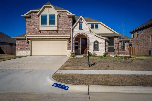 1416 Steve Drive, Crowley, TX 76036 (MLS #14261060) :: Hargrove Realty Group