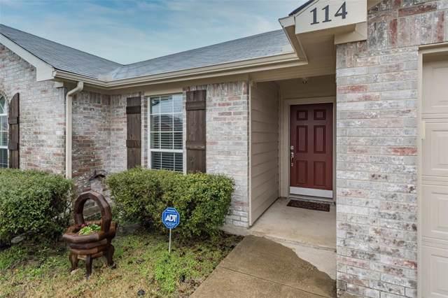 114 Windsor Drive, Forney, TX 75126 (MLS #14263612) :: Vibrant Real Estate