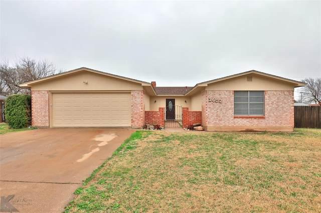 2602 Darrell Drive, Abilene, TX 79606 (MLS #14263996) :: Trinity Premier Properties