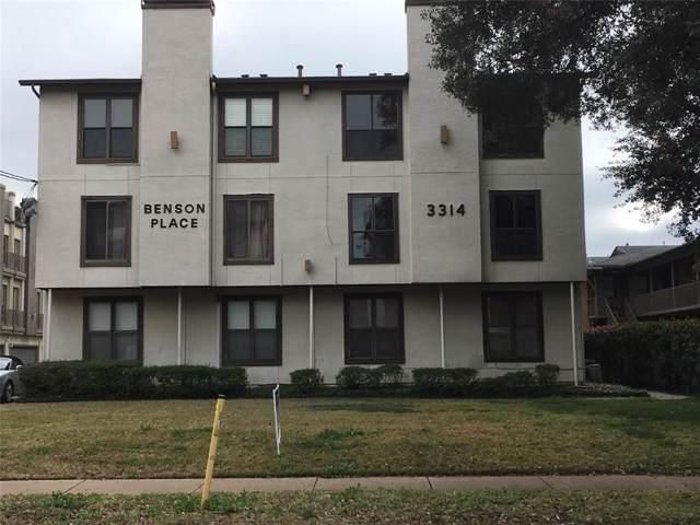 3314 Douglas Avenue #203, Dallas, TX 75219 (MLS #14266614) :: RE/MAX Town & Country