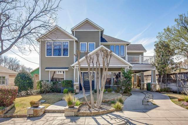 304 E Franklin Street, Grapevine, TX 76051 (MLS #14267881) :: Baldree Home Team