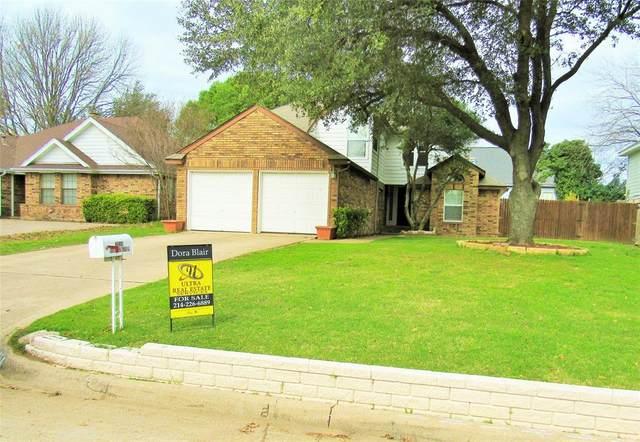 2414 Warrington Drive, Grand Prairie, TX 75052 (MLS #14268359) :: Ann Carr Real Estate
