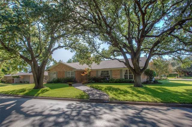 3900 Summercrest Drive, Fort Worth, TX 76109 (MLS #14268731) :: Potts Realty Group