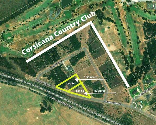 LOT 64 Fairway Parks Drive, Corsicana, TX 75110 (MLS #14278898) :: The Chad Smith Team