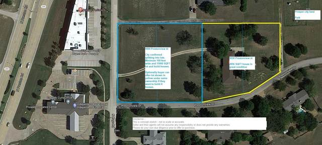 9084 Prestonview, Prosper, TX 75078 (MLS #14279450) :: Real Estate By Design