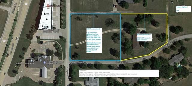 9084 Prestonview, Prosper, TX 75078 (MLS #14279450) :: Premier Properties Group of Keller Williams Realty