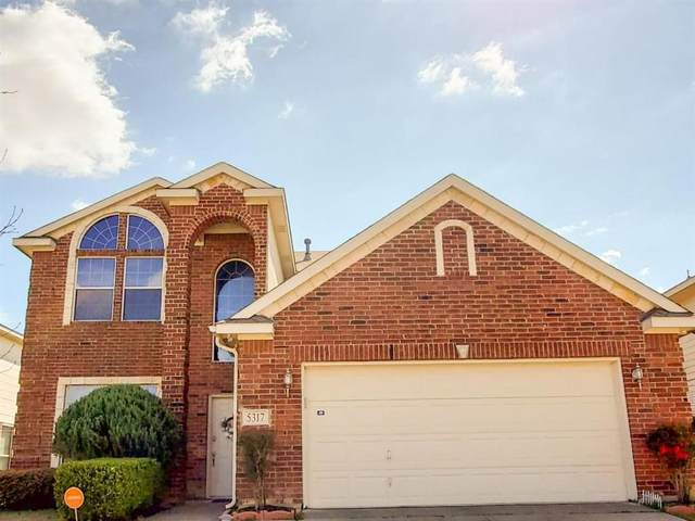 5317 Sunnyway Drive, Fort Worth, TX 76123 (MLS #14279662) :: The Good Home Team