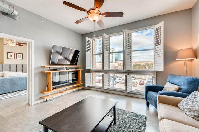 201 W Lancaster Avenue #304, Fort Worth, TX 76102 (MLS #14280243) :: Real Estate By Design
