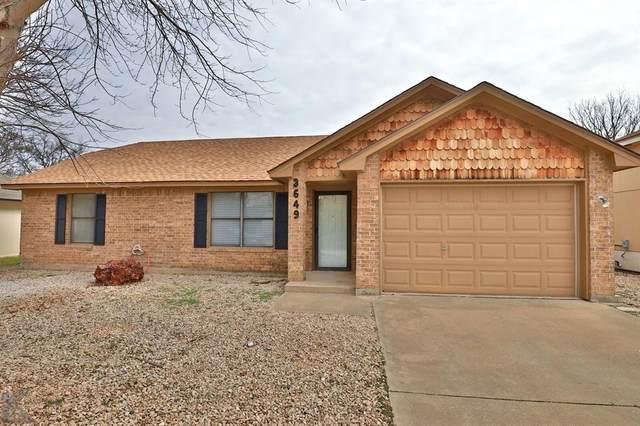 3649 Radcliff Road, Abilene, TX 79602 (MLS #14286506) :: The Good Home Team