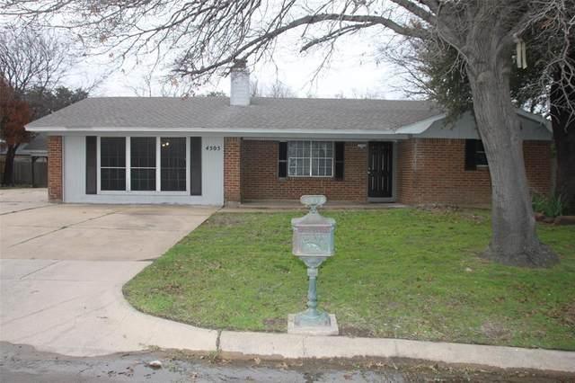 4505 Knowledge Drive, Haltom City, TX 76117 (MLS #14288057) :: Justin Bassett Realty