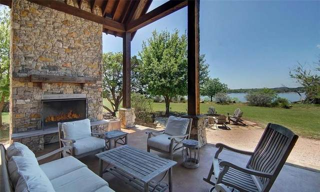 1100 Sunset Circle, Possum Kingdom Lake, TX 76449 (MLS #14289407) :: Tenesha Lusk Realty Group
