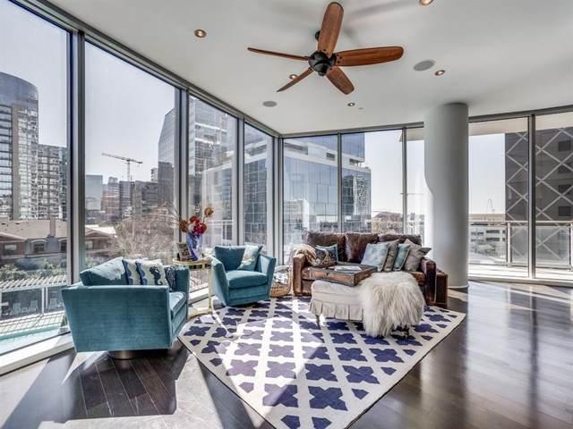 2900 Mckinnon Street #401, Dallas, TX 75201 (MLS #14292929) :: Front Real Estate Co.