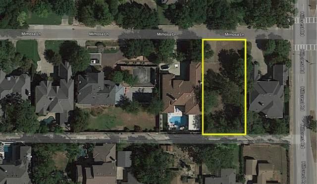 6828 Mimosa Lane, Dallas, TX 75230 (MLS #14297268) :: Robbins Real Estate Group