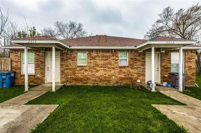 2912 Avenue K, Fort Worth, TX 76105 (MLS #14297374) :: Post Oak Realty