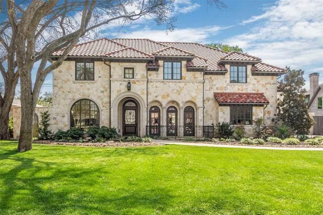 5924 Waggoner Drive, Dallas, TX 75230 (MLS #14298504) :: Robbins Real Estate Group