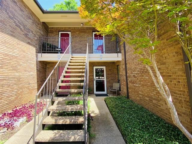 2505 Wedglea Drive #214, Dallas, TX 75211 (MLS #14302372) :: The Mauelshagen Group