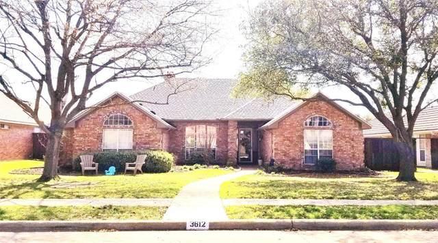 3612 Jomar Drive, Plano, TX 75075 (MLS #14302581) :: The Hornburg Real Estate Group