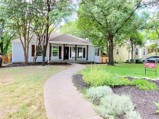 1321 Bluebonnet Drive, Fort Worth, TX 76111 (MLS #14305018) :: Frankie Arthur Real Estate