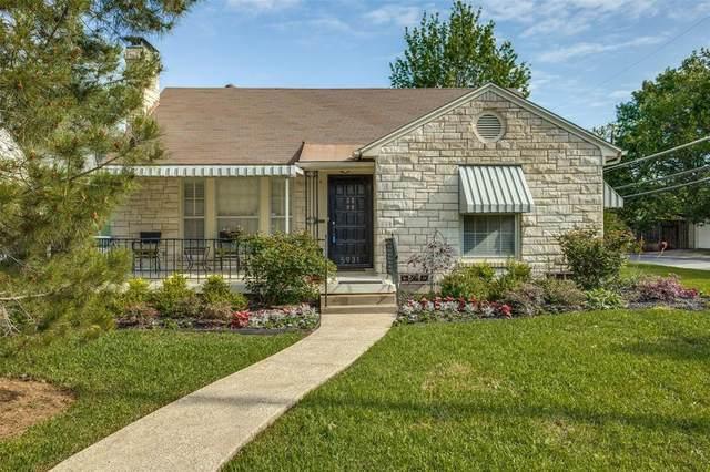5931 Winton Street, Dallas, TX 75206 (MLS #14307696) :: Robbins Real Estate Group