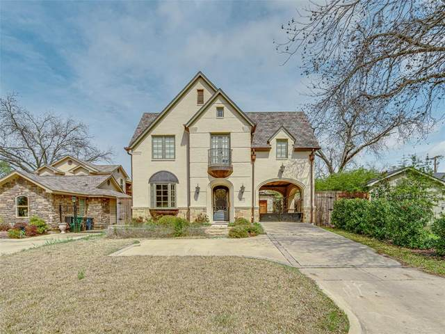 5604 Collinwood Avenue, Fort Worth, TX 76107 (MLS #14307788) :: The Mitchell Group