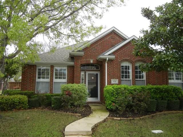 114 Stonecreek Drive, Irving, TX 75063 (MLS #14308095) :: EXIT Realty Elite