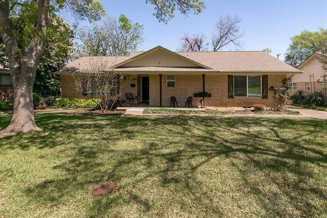 6718 Kingsbury Drive, Dallas, TX 75231 (MLS #14309791) :: The Kimberly Davis Group
