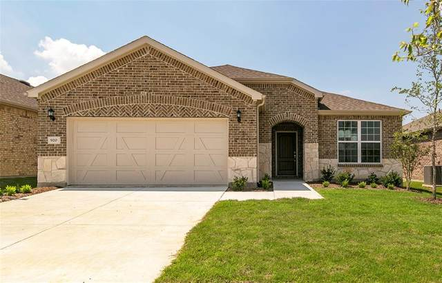 920 Old Glory Drive, Little Elm, TX 76227 (MLS #14311879) :: Frankie Arthur Real Estate