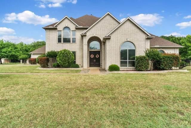 110 Lake Trail Drive, Double Oak, TX 75077 (MLS #14315954) :: Baldree Home Team
