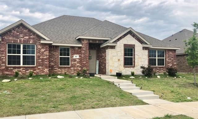 517 Clearlake Drive, Waxahachie, TX 75165 (MLS #14316451) :: The Chad Smith Team